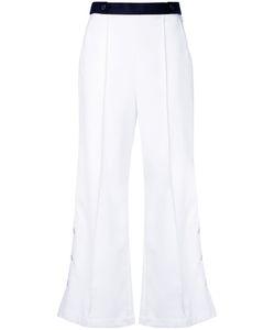 Loveless | Flared Button Trousers Women 7