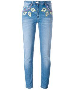 Moschino | Diamond Embroidery Skinny Jeans Size 40