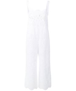RED Valentino | Crochet Overall Jumpsuit