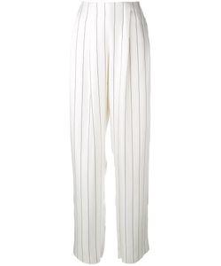 Giorgio Armani | Wide Leg Striped Trousers Size 38
