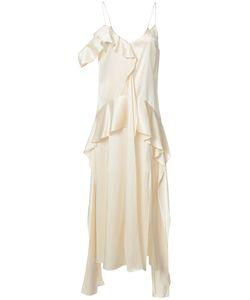 Jonathan Simkhai | Ruffled Slip Dress Size 6
