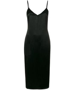 Versus | Side Slit Zipped Dress