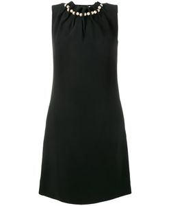 Osman | Pearl-Embellished Mini Dress 10