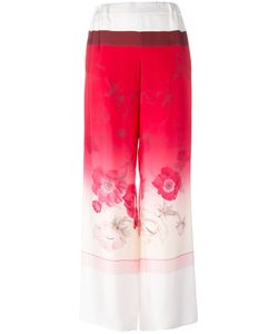 Salvatore Ferragamo | Wide-Leg Trousers 44 Silk