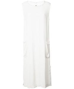 Raquel Allegra | Frayed Trim Dress