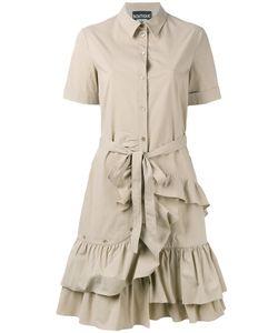 Boutique Moschino | Ruffled Shirt Dress Size 42