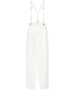 Y's | Denim Suspender Trousers Women