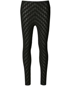 Pleats Please By Issey Miyake | Stepped Pattern Leggings