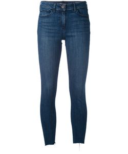 3X1   Frayed Cropped Jeans 25