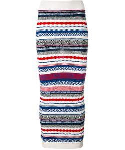 Laneus | Long Knitted Skirt