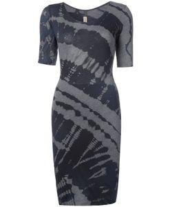 Raquel Allegra   Fitted Tie-Dye Dress Women