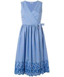 P.A.R.O.S.H. | P.A.R.O.S.H. Striped Wrap Dress