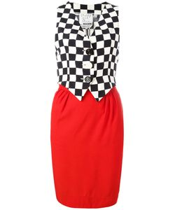 Moschino Vintage | Sleeveless Waistcoat Dress