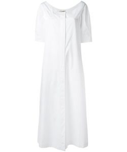 Isa Arfen | Long Shirt Dress 10 Cotton