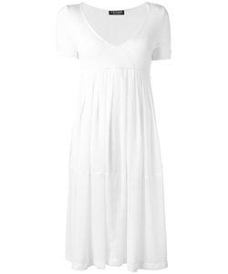 Twin-Set   V-Neck Flared Dress Size Large