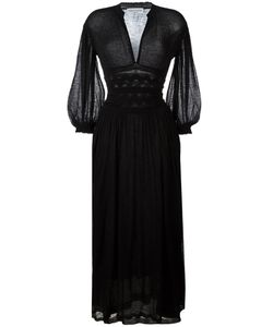 Sonia Rykiel | Sheer Detail Long Dress Large