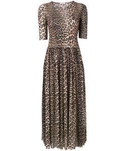 Ganni | Olivet Leopard Print Maxi Dress Women