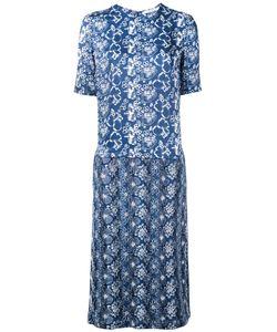 Julien David | Printed Denim Dress