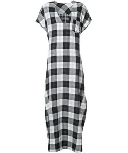 Osklen | Checked Maxi Dress