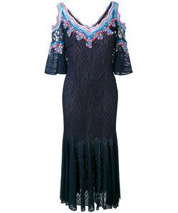 Peter Pilotto | Ric-Rac Lace Cold Shoulder Dress