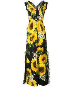 Dolce & Gabbana | Sunflower Print Long Dress
