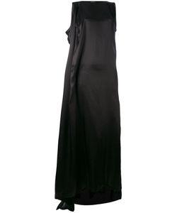 Ann Demeulemeester | Satin Sleeveless Asymmetric Dress Size 38