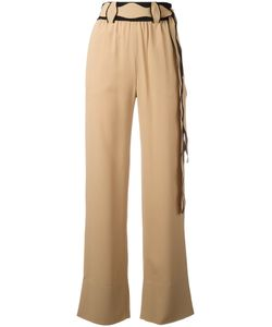 Veronique Leroy | Scallop Belted Trousers Size 40