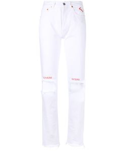 Forte Couture | Distressed Love Slim Jeans