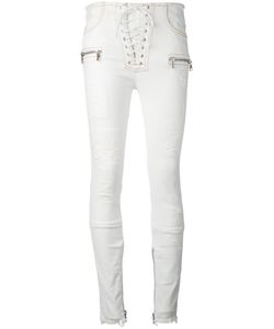 Unravel Project | Lace-Up Skinny Trousers