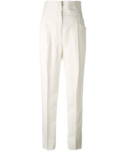 Ermanno Scervino   High-Waisted Tailored Trousers Women