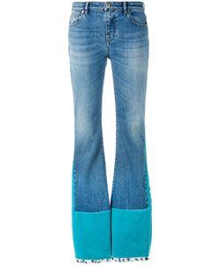 Roberto Cavalli | Velvet Panelled Jeans Size 38
