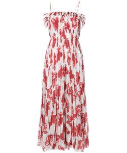 Adam Lippes   Print Maxi Dress