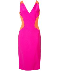 Mugler | Colour Block Sleeveless Mini Dress