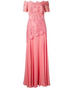 Martha Medeiros | Off The Shoulder Lace Patricia Gown Size