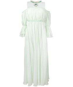 Giambattista Valli | Peasant Sleeve Necklace Dress Size 42