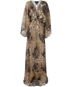 Philipp Plein | Patterned Long Dress Size Medium