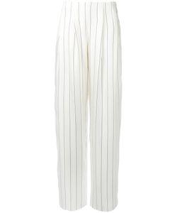 Giorgio Armani | Striped High Waist Trousers Size 40