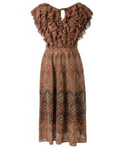 Gig | Ruffled Knit Dress