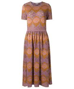 Gig | Knit Midi Dress P Viscose/Lurex/Polyamide