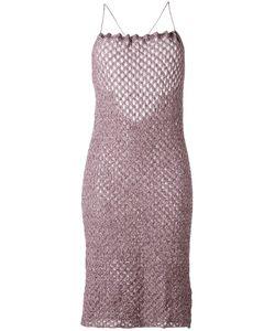 Vivienne Westwood | Crisscross Strap Knit Dress