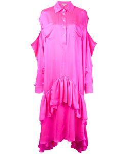 Natasha Zinko   Cold-Shoulder Kaftan Dress Size 38