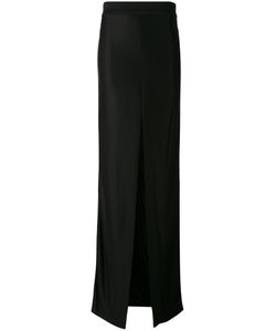 Mugler | Slit Detail Long Length Skirt