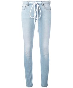 Off-White | Drawstring Tie Skinny Jeans Women