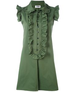 Sonia By Sonia Rykiel | Ruffled Trim Shift Dress