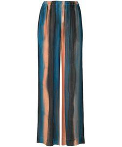 Raquel Allegra | Striped Wide-Legged Trousers