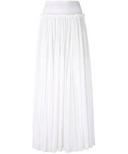 Alberta Ferretti   Gathered Waist Maxi Skirt