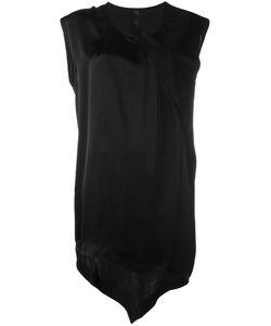 Ilaria Nistri   Asymmetric Hem Mini Dress 42 Calf