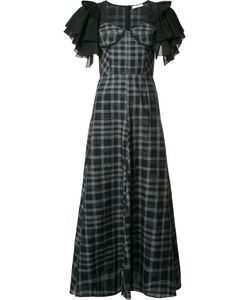 Tome | Long Ruffle Sleeve Dress