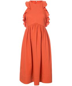 Ulla Johnson | Frilled Sleeveless Midi Dress