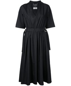 Muveil | Flared V-Neck Dress
